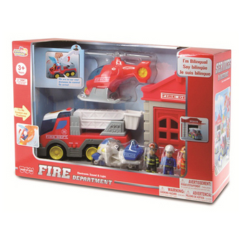 VEHICLE AND PEOPLE PLAYSET (STYLES VARY)