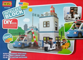 LEGO POLICE STATION 53 PIECES