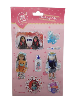 THE NEW YORK DOLL WATER & BEADS STICKERS (STYLES VARY)