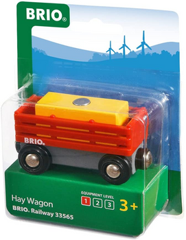 BRIO WORLD- FARM HAY WAGON