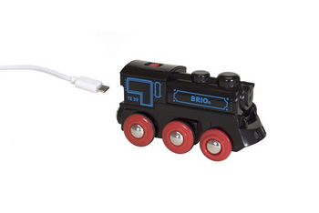 RECHARGABLE TRAIN ENGINE WITH MINI USB CABLE 33599