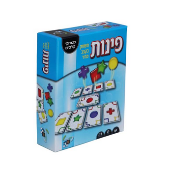 CORNERS CARD GAME (HEBREW INSTRUCTIONS)