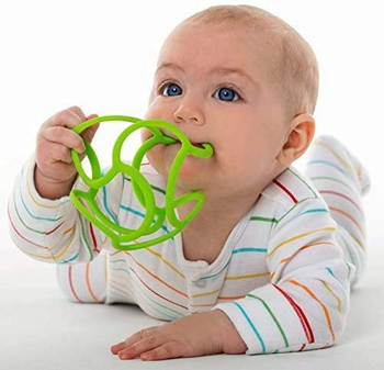 OGOBOLLI STRETCHY TEETHER BALL (COLORS VARY)