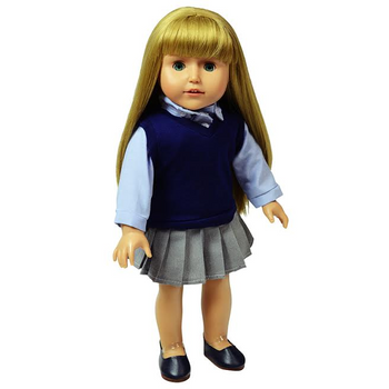 """THE NEW YORK DOLL UNIFORM CLOTHING FOR 18"""" DOLL (COLORS AND STYLES VARY)"""