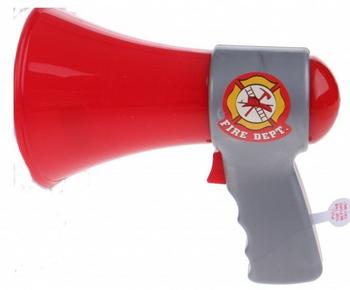 KIDS FIREFIGHTER MEGAPHONE (STYLES VARY)