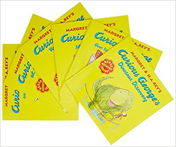 CURIOUS GEORGE BOOK (TITLES VARY)