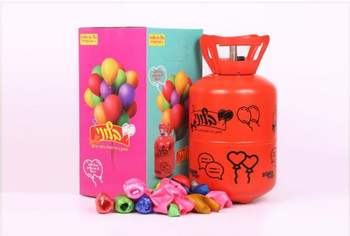 HELIUM BALLOON PARTY WITH HELIUM TANK FOR 30 BALLOONS AND STRING