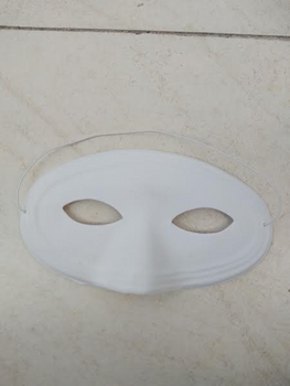 """COLOR YOUR OWN MASK"" EYE MASK"