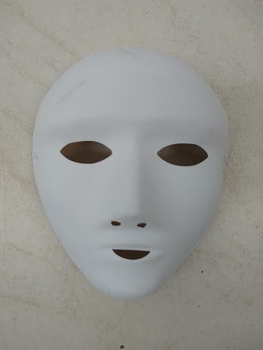 """COLOR YOUR OWN MASK"" FULL FACE MASK"