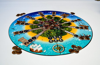 אי המטמון- TREASURE ISLAND STRATEGIC GAME