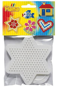 HAMA  HEART AND STAR BOARDS FOR IRONING BEADS