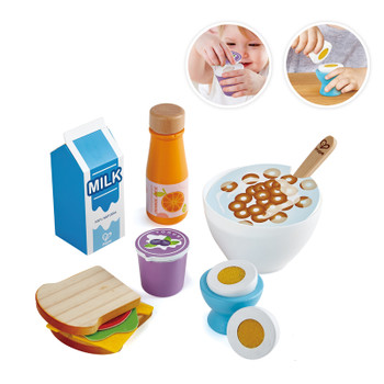 HAPE DELICIOUS BREAKFAST PLAYSET
