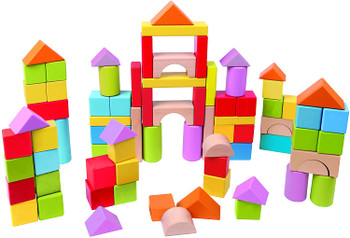 HAPE 101 WONDERFUL BLOCKS (COLORS VARY)