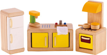 HAPE KITCHEN- WOODEN DOLLHOUSE ACCESSORIES