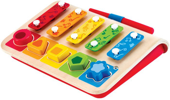 HAPE SHAPE SORTER XYLOPHONE AND PIANO