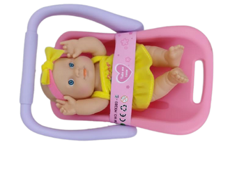 DOLL AND CAR SEAT
