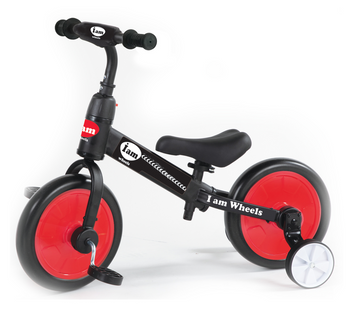 IAM TRAINING WHEEL BIKE 2 IN 1 (COLORS VARY)