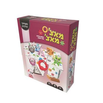 MATCH MATCH CARD GAME (HEBREW)