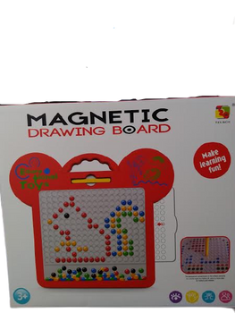 MAGNETIC DRAWING BOARD (COLORS VARY)