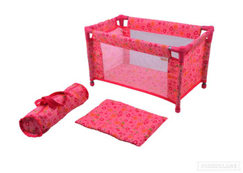 CUBY DOLL CRIB (COLORS VARY)