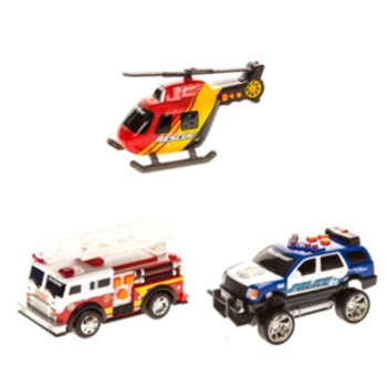 ROAD RIPPERS RUSH & RESCUE MINI CAR (STYLES VARY)