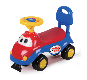 I AM CAR RIDING TOY (COLORS VARY)