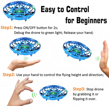HST DRONE FLYING BALL DRONE (COLORS & STYLES VARY)