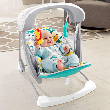 FISHER-PRICE CARNIVAL TAKE-ALONG SWING & SEAT (STYLES VARY)