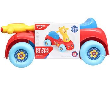 Safe and Reliable. It's compact size will store nicely in your Israeli  home. This colorful riding toy is great for outdoors and indoors. A smooth run ride will ensure your little one's enjoyment year round. A great riding toy for children! Fabulous gift for kids in Israel.