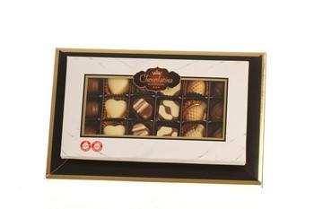 CHOCOLATE PRALINE GIFT BOX - 18 PIECES (DAIRY)