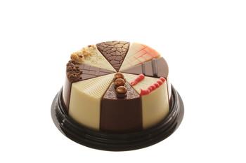 BELGIUN CHOCOLATE PRALINE CAKE (DAIRY) 8 PIECES
