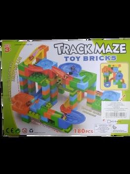TRACK MAZE TOY BRICKS