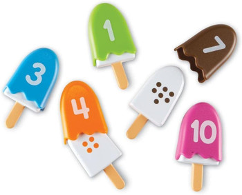 LEARNING RESOURCES NUMBER POPS ICECREAM