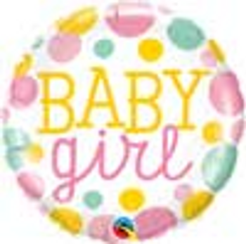 18 INCH HELIUM BALLOON BABY GIRL (STYLES VARY) JERUSALEM ONLY