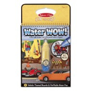 MELISSA & DOUG ON THE GO WATER WOW! VEHICLES