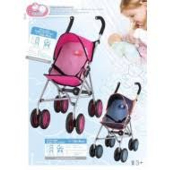 CHICA & CHICO  UMBRELLA DOLL STROLLER (COLORS VARY)
