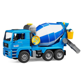BRUDER MAN CEMENT MIXER TRUCK