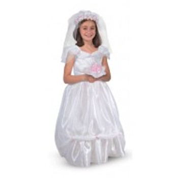 MELISSA & DOUG BRIDE ROLE PLAY COSTUME SET Purim