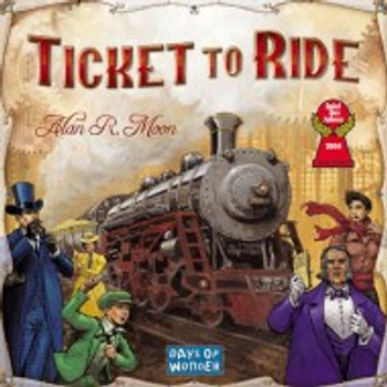 TICKET TO RIDE BY DAYS OF WONDER- HEBREW EDITION