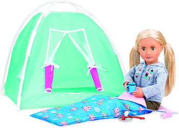 OUR GENERATION CAMPING SET (COLORS VARY)