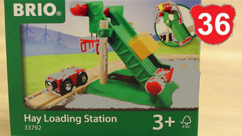 BRIO HAY LOADING STATION