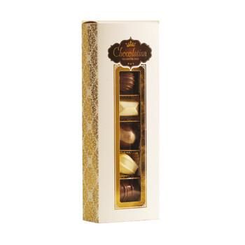 LUXURIOUS PRALINE CHOCOLATE PACKAGE (DAIRY) - 6 PRALINES