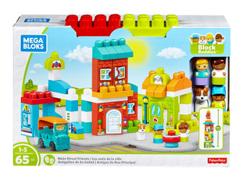FISHER PRICE MEGA BLOCKS MAIN STREET FRIENDS