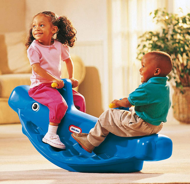 LITTLE TIKES WHALE SEESAW