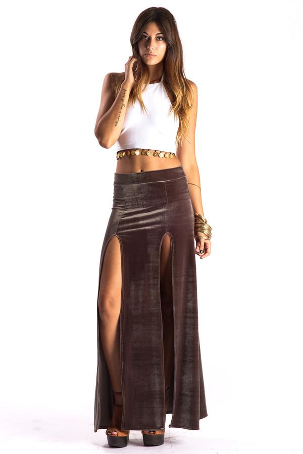 Roma Maxi Skirt