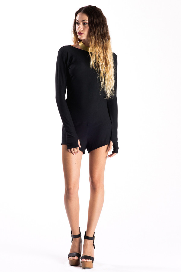 Night Moves Romper