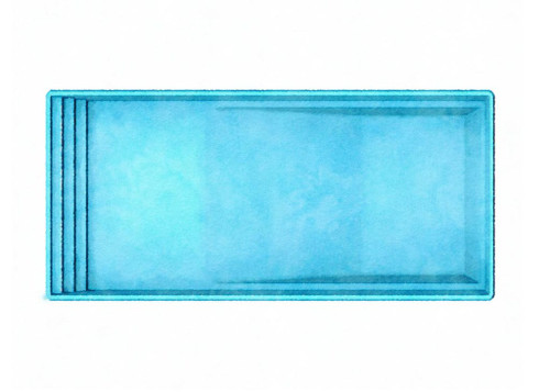 Latham Monaco Fiberglass Pool - Westmoreland Pools