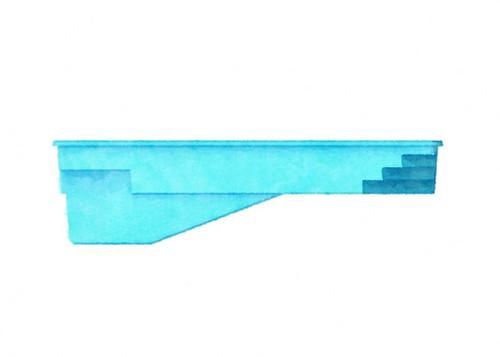 Latham St Thomas Fiberglass Pool - Westmoreland Pools