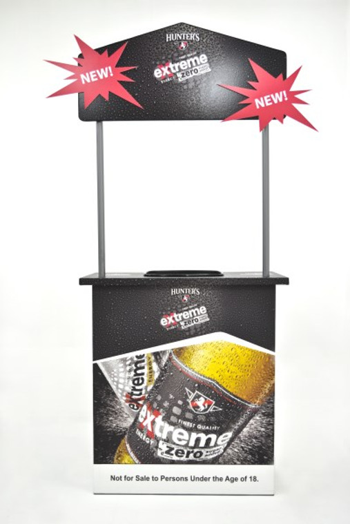 Product Dimensions:  950mm W x 480mm D x 2000mm H  Material:  16mm X-Board Print  Board Usage:  1x - 1220mm x 2400mm  1x - 1220mm x 1200mm