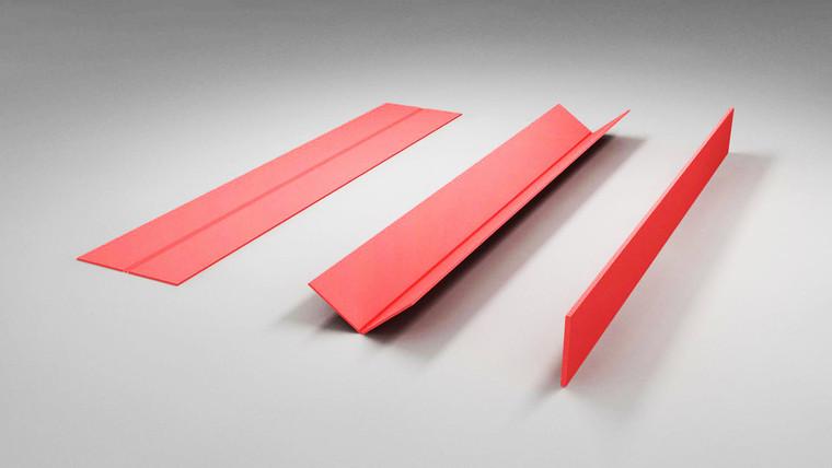 Slim profile Ceiling Beams 3000mm (l) x 20mm(t) x 290mm (h)